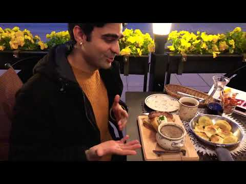 Pierogi : Eating polish pierogi and traditional polish foods in Warsaw Layover