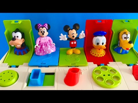 Funny Mickey Mouse Baby Pop Up Toy