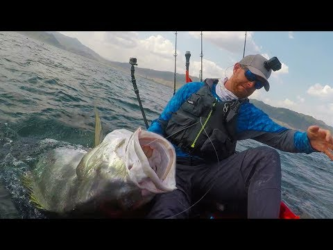 INSANE Battle with MONSTER Fish in a Kayak! | Field Trips Panama