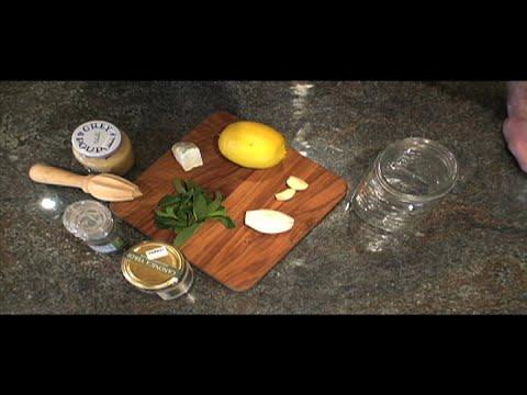How to Make an Easy Goat Cheese Vinaigrette #002