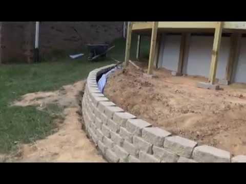 Landscaping Block Retaining Wall