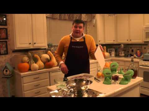In the Kitchen with David EPISODE 11 Thanksgiving IV: Brandied Orange Cranberry Sauce