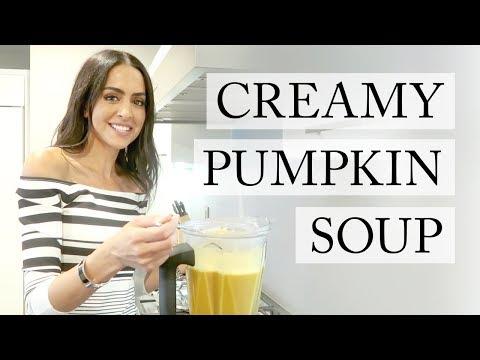 Creamy Pumpkin Soup | Dr Mona Vand 🍂 🍁