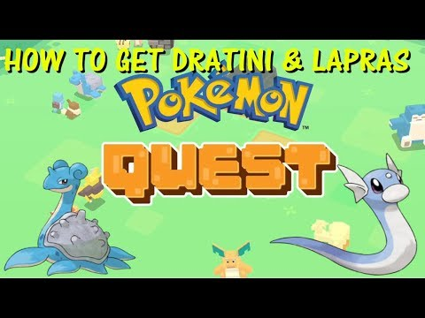 Pokemon Quest - How to get Dratini and Lapras
