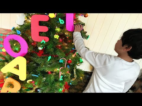 ABCs Christmas Tree, Let's find and collect them all, Let's Play Kids
