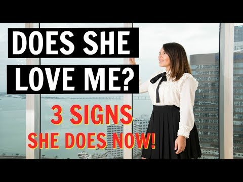 How To Know If A Woman Loves You   Top 3 Signs She Does NOW!