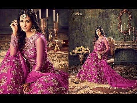 Latest Indian Dresses Collections 2017 || Sonal Chauhan  Anarkali Suits || MAISHA MASKEEN AZARA