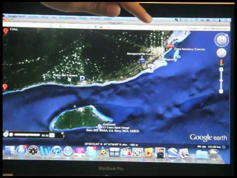 Mapa de Playa del Carmen, distancias y puntos importantes en la Riviera Maya