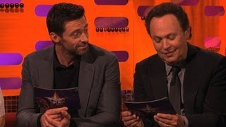 Hugh and Billy try some baking innuendos - The Graham Norton Show - New Year