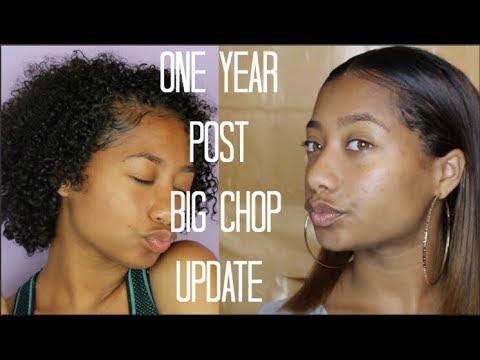 1 YEAR POST BIG CHOP UPDATE  Tatyana Celeste ❤︎