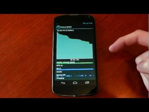 Nexus 4 -  Battery Life - Observations / Thoughts