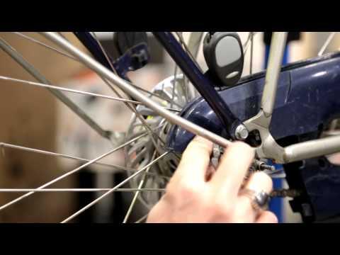 Rear wheel removal Shimano Nexus 3 - Be Dutch! Bicycles