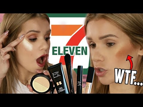 Full Face TESTING 7-ELEVEN Makeup... Is it ANY Good?!