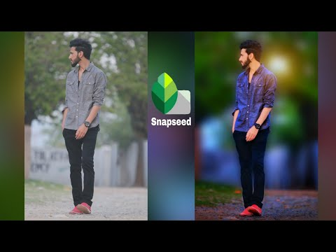 Snapseed Photo Editing || Heavy Photo Editing || Best Color Effect Android App