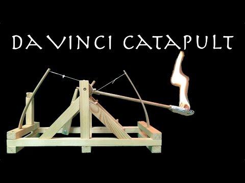 Make daVinci catapult DIY
