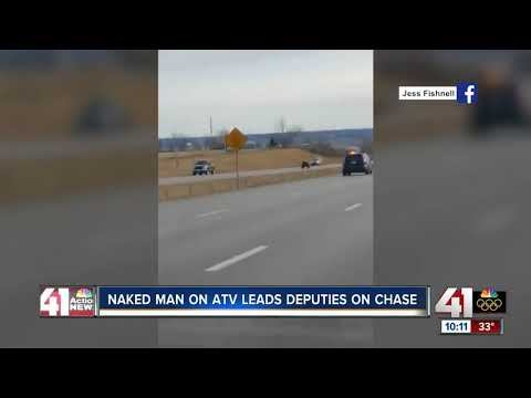Xxx Mp4 Naked Man Riding ATV Arrested After Police Pursuit In Northland 3gp Sex