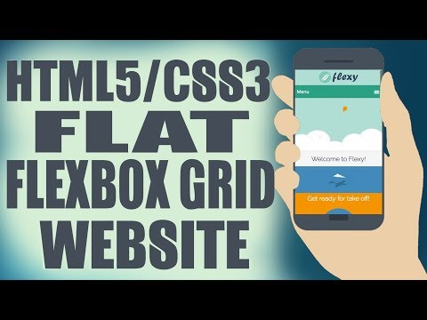 Responsive HTML/CSS Website From Scratch with Flexbox Grid