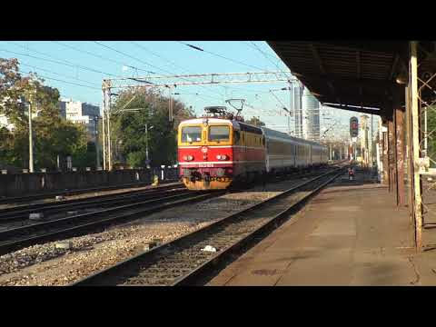 (HD) Croatia - Trains at Gajnice & Zagreb GK - 20/10/17