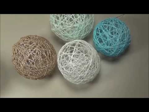 String Ball Ornaments