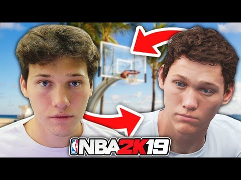 My OFFICIAL NBA 2K19 Face Scan - My Career #2