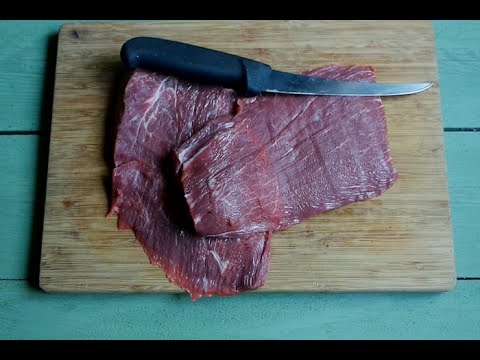Beef Hack: turn a cheap grocery store roast into two high end steaks!