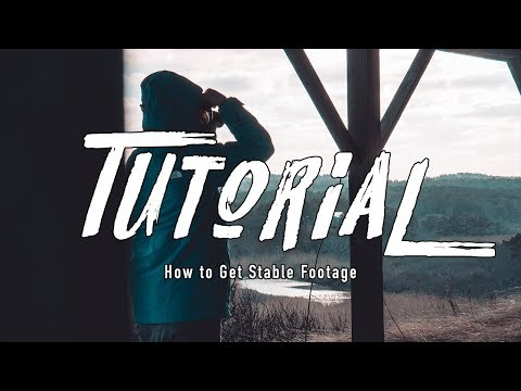 DON'T BUY STABILIZERS, How to get Stable HANDHELD FOOTAGE (FREE)