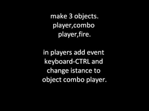 game maker how to make combos