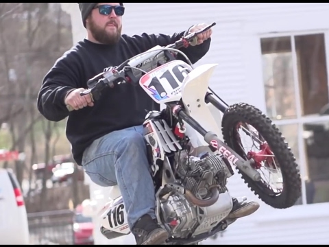 Insane Custom Vegas KLX195 Pit Bike | Kaplan Cycles