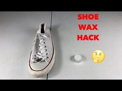 wax on shoe hack (does it work?)