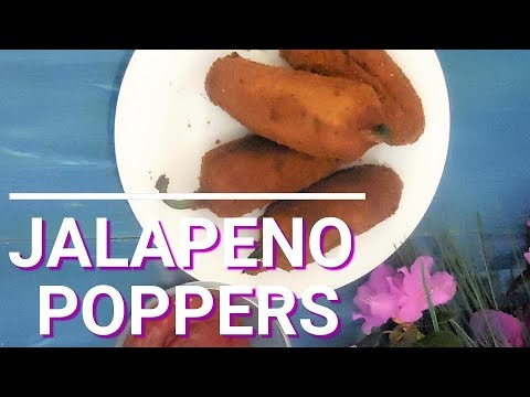 How to make crispy Jalapeno Poppers by Fatma's Kitchen