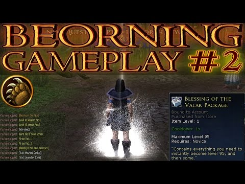 LOTRO: Beorning Gameplay #2 - Blessing of the Valar Package   Lord of the Rings Online 2016
