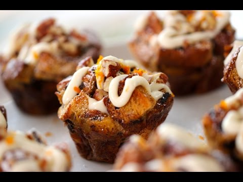 Beth's Cinnamon Bun Breakfast Puddings | ENTERTAINING WITH BETH
