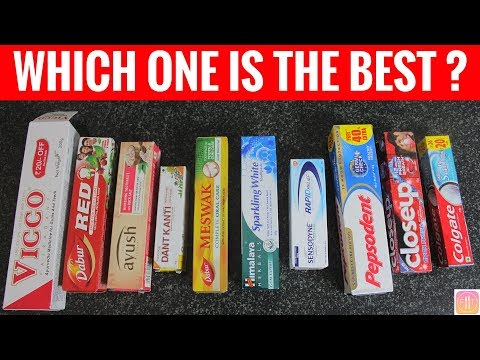 10 Toothpastes in India Ranked from Worst to Best