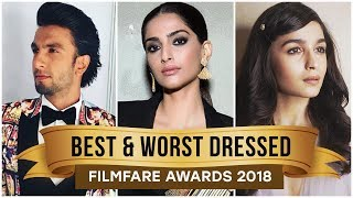 Sonam Kapoor, Alia Bhatt, Parineeti Chopra: Best and Worst Dressed of Filmfare Awards 2018