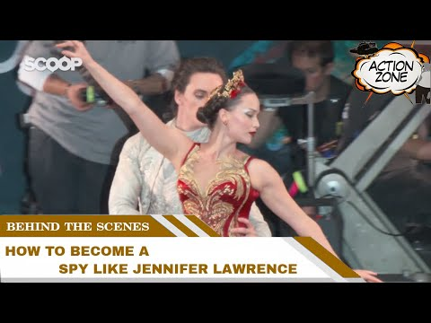 How to become a spy like Jennifer Lawrence? | Behind The Scenes Of Red Sparrow