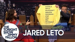 """Jared Leto Brings Jimmy Soft and Cuddly Thirty Seconds to Mars """"America"""" Album Merch"""