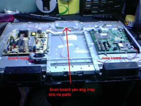 repair LCD 32