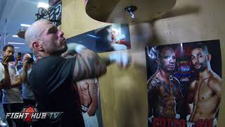 MIGUEL COTTO - FULL SPEED BAG WORKOUT - GO PRO HERO 6 - COTTO VS ALI VIDEO