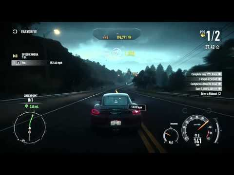 Need for Speed: Rivals - 10 Heat and Multiplier Achievements, and 200k points in the tutorial