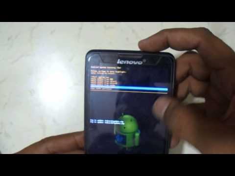 Lenovo P780 Eazy Pattern Reset And Hard Reset Youtube