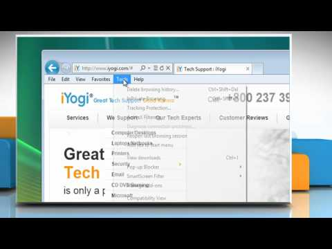 How to stop Internet Explorer® 9 from saving browsing history in Windows® Vista