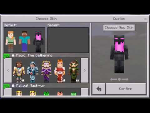 How to apply skins - Skins for Minecraft PE