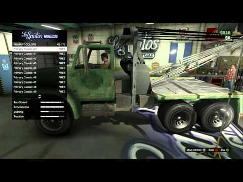 GTA 5 Big Tow Truck RARE (Outdated)