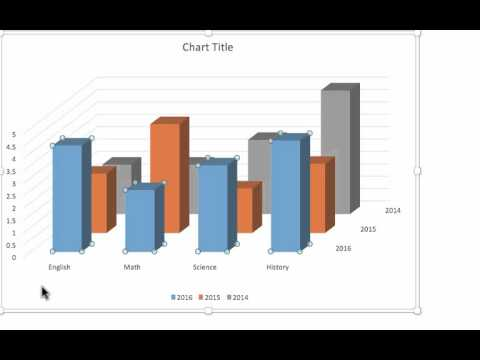How to Insert a Chart on PowerPoint 2015 for Mac