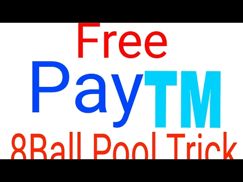 Free PayTM Cash From 8 Ball Pool