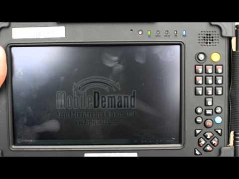 MobileDemand xTablet T7200 Display