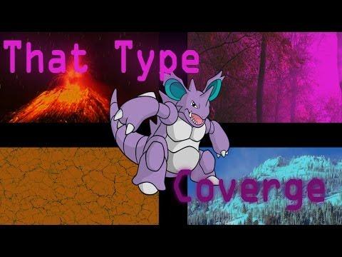 Pokemon X and Y Generation Six - Pokemon Showdown OU # 15 - Nidoking's Type Coverage