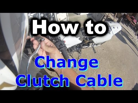 How to Change a Clutch Cable on a Motorcycle