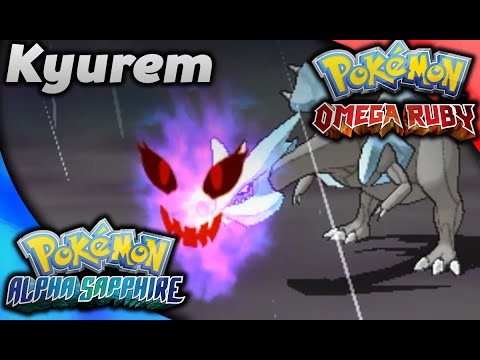 Catching Kyurem in Omega Ruby and Alpha Sapphire!