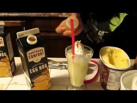how to make Egg Nog Shake quick easy tasty